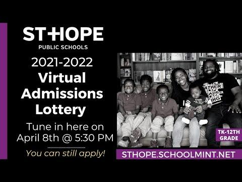 2021-2022 Virtual Admissions Lottery