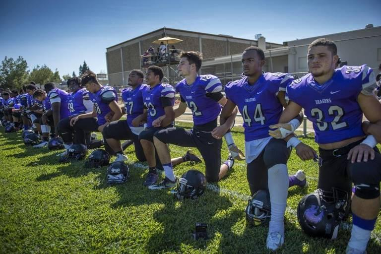 Sac High Football Team Takes Knee For Anthem How Does Its Vietnam