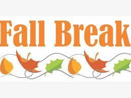 Image result for fall break 2019